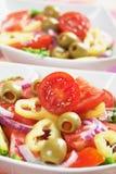 Italian olive salad Royalty Free Stock Photo