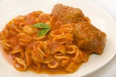 Italian orecchiette Stock Photos