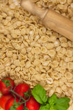 Italian Orecchiette Pasta fatte a mano Royalty Free Stock Photo