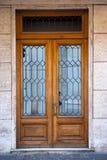 Italian ornamental door Stock Photo