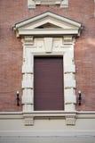 Italian ornate window Stock Image
