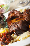 Italian osso bucco Royalty Free Stock Photography
