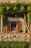 Italian outdoor cafe Royalty Free Stock Photos