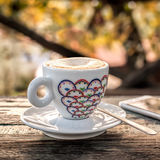 Italian outdoor cafe Royalty Free Stock Images