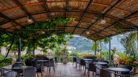 Italian Outdoor Dining Hall Stock Photos