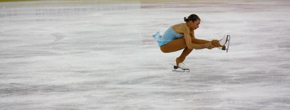 Italian overall 2009 Figure Skating Championships Stock Image