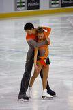 Italian overall 2009 Figure Skating Championships Stock Images