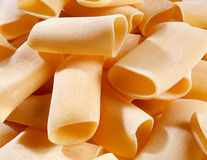 Italian paccheri pasta Stock Photo