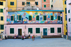 Italian paintings Royalty Free Stock Photo