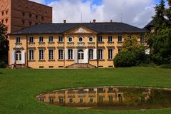 Italian Palace - Bayreuth Stock Photography