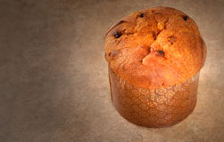 Italian Panettone Christmas Bread Royalty Free Stock Image