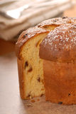 Italian Panettone Christmas Bread Royalty Free Stock Photography