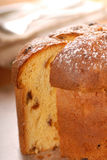 Italian Panettone Christmas Bread Royalty Free Stock Image