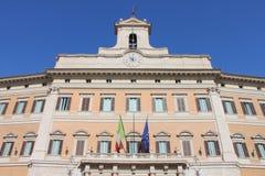 The italian Parliament royalty free stock photo