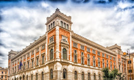 Italian Parliament Building in Rome, Italy Royalty Free Stock Photos