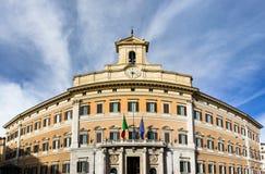 Italian parliament, Monte Citorio Stock Images