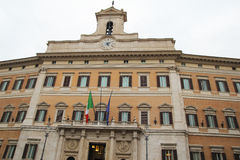 Italian parliament Stock Image
