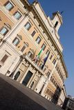 Italian Parliament in Rome, Italy Stock Photo