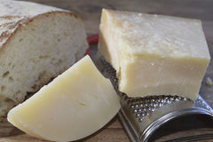 Italian parmesan Stock Image