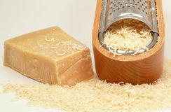 Italian parmesan-cheese Stock Image