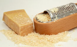 Italian parmesan-cheese Royalty Free Stock Image