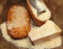 Italian parmesan-cheese Royalty Free Stock Photography