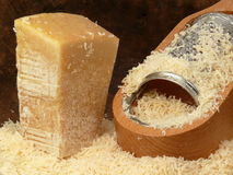Italian parmesan-cheese Stock Images