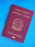 Italian Passport document Royalty Free Stock Images