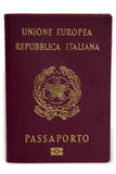 Italian Passport Royalty Free Stock Image