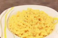 Italian past with origano. Italian pasta with spice origano stock photos