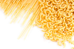 Italian pasta. Different kinds of italian pasta Royalty Free Stock Photos