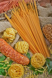 Italian pasta Royalty Free Stock Photography