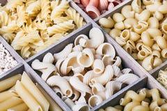 Italian pasta assortment Stock Image