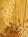 Italian pasta background. Stock Images