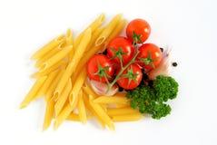 Italian pasta background royalty free stock images