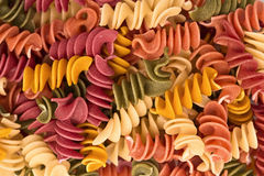 Italian pasta, background Stock Image