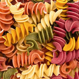 Italian pasta, background Stock Photo