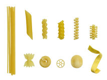 Italian pasta background Stock Photo