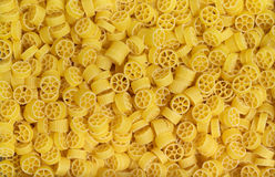 Italian pasta background. Full frame italian pasta background with lots of Radiatori noodles Stock Photography