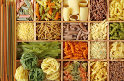Italian Pasta Collection Stock Photos