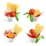 Italian pasta collection royalty free stock image