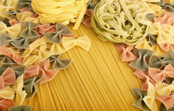 Italian pasta collection Stock Photos