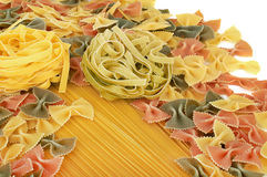 Italian pasta collection Royalty Free Stock Images