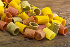 Italian Pasta colors Stock Images