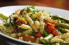 Italian pasta Dinner Royalty Free Stock Photos
