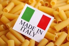 Italian pasta of durum wheat Stock Photography