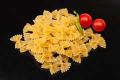 Italian Pasta - Farfalle Royalty Free Stock Photos