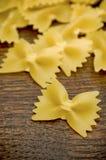 Italian pasta - Farfalle Stock Photography