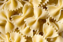 Italian pasta - farfalle, butterfly royalty free stock images