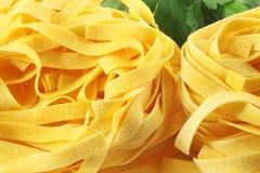 Italian pasta fettuccine Royalty Free Stock Photos